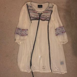 Cute embellished beach cover up/dress